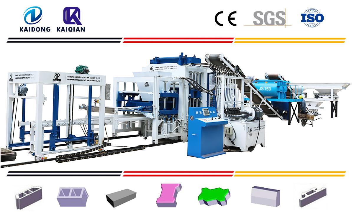 QT Series Automatic block  machine Catalogues